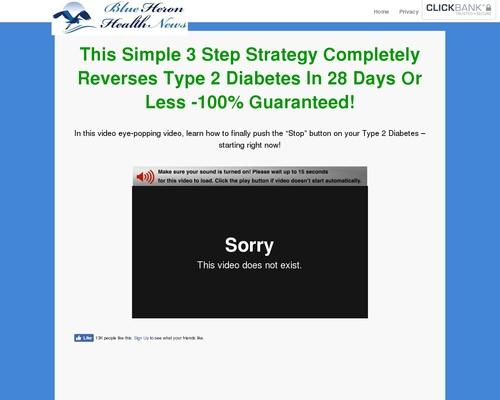 Type 2 Diabetes Strategy – Take 3 Step to Reverse Your Diabetes!