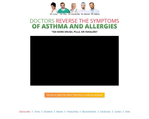 The Asthma and Allergy Breakthrough Your Doctor Won't Tell You About