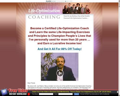 Life Optimization Coach Certification Program