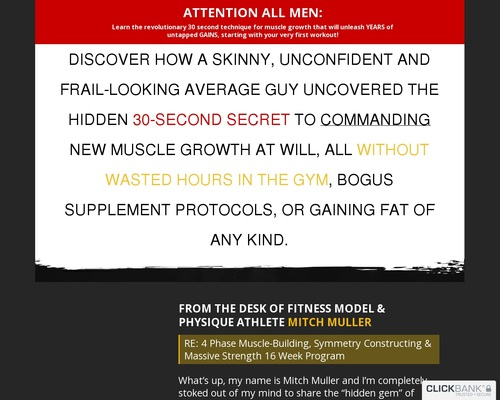 Mass Construction – Build Muscles At Your Will