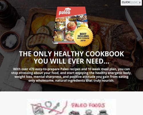The Next Big Paleo Offer! Epic Conversions And Upsells