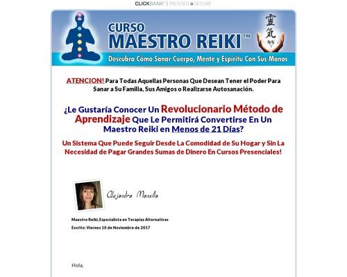 Curso Maestro Reiki – Unico En Español
