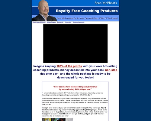 Royalty Free  Coaching Products – start your coaching business with profits