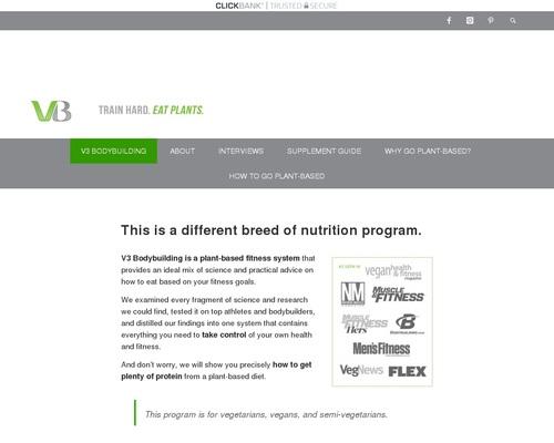 Vegetarian Bodybuilding System