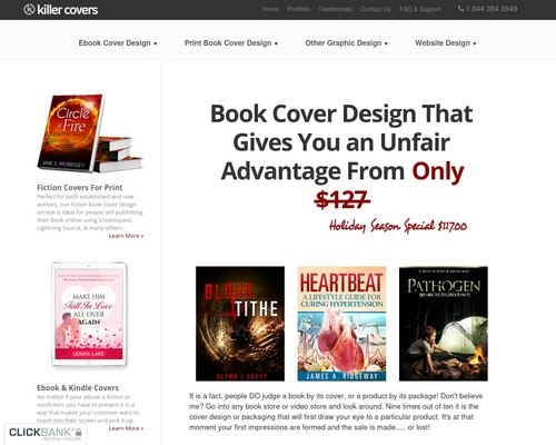 Killer Covers – Book Cover Design That Gives You an Unfair Advantage