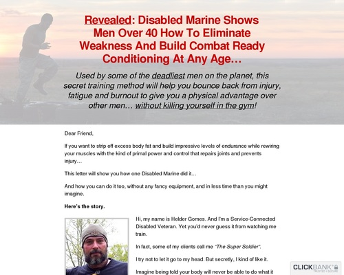 How To Eliminate Weakness And Build Combat Ready Conditioning At Any Age?