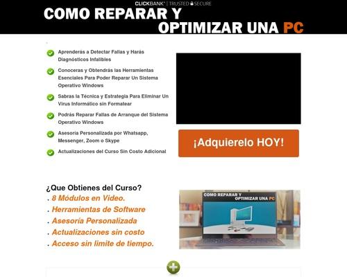 Como Reparar Y Optimizar Una PC