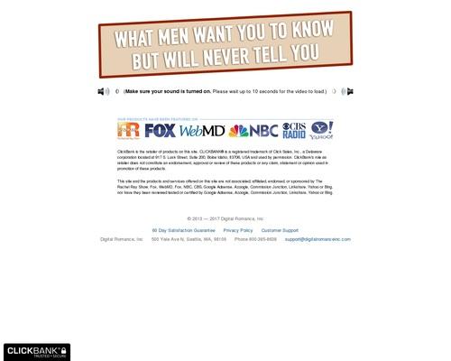 Secret Survey –  Program To Know All About Men